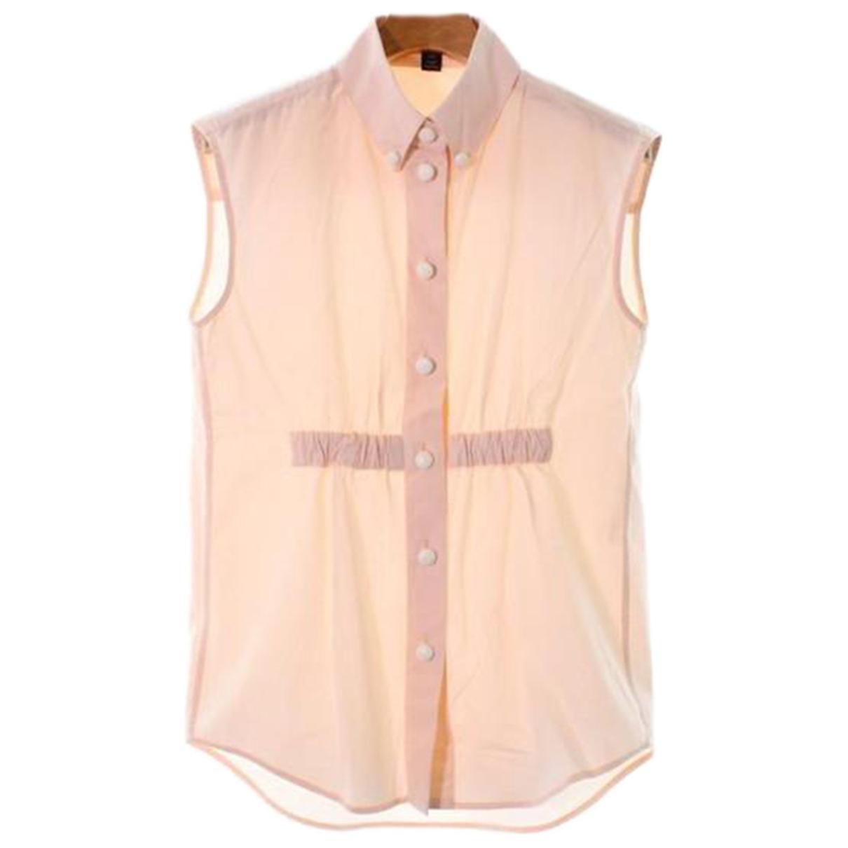 Louis Vuitton - Top   pour femme en coton - rose