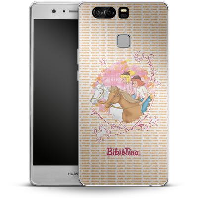 Huawei P9 Silikon Handyhuelle - Bibi und Tina Abenteuer von Bibi & Tina