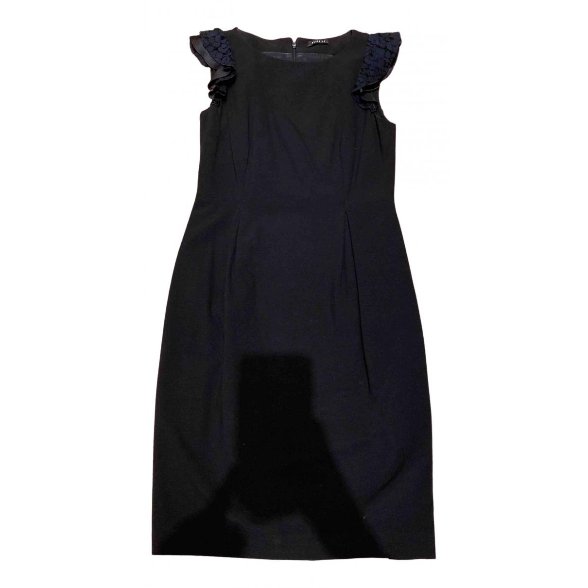 Peserico - Robe   pour femme - noir