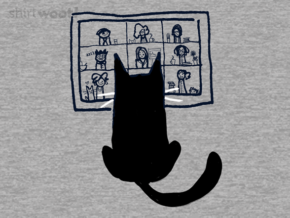 Beware Of Cats During Video Meetings T Shirt