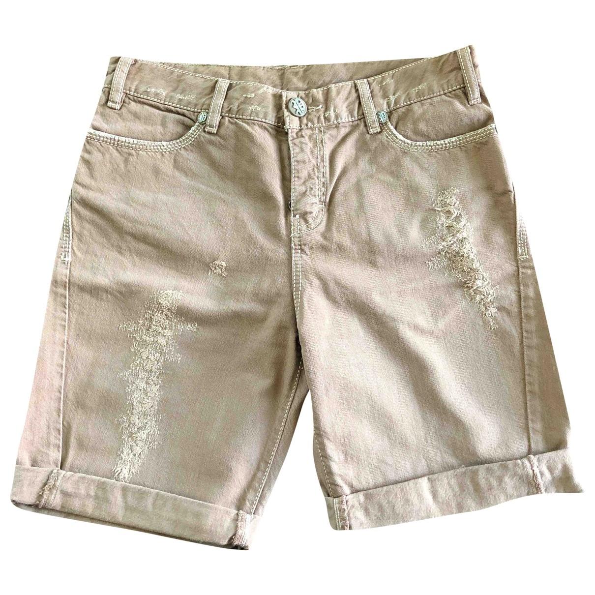 Pinko - Jean   pour femme en coton - marron