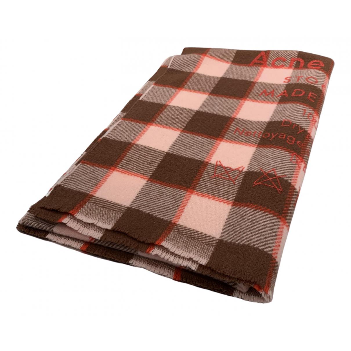Acne Studios \N Multicolour Wool scarf for Women \N