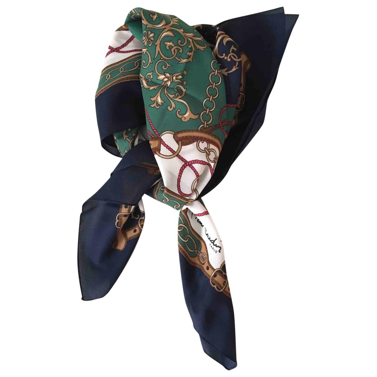 Pierre Cardin \N Blue scarf for Women \N