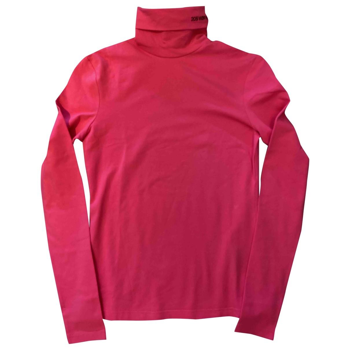 Calvin Klein 205w39nyc - Top   pour femme en coton - rose