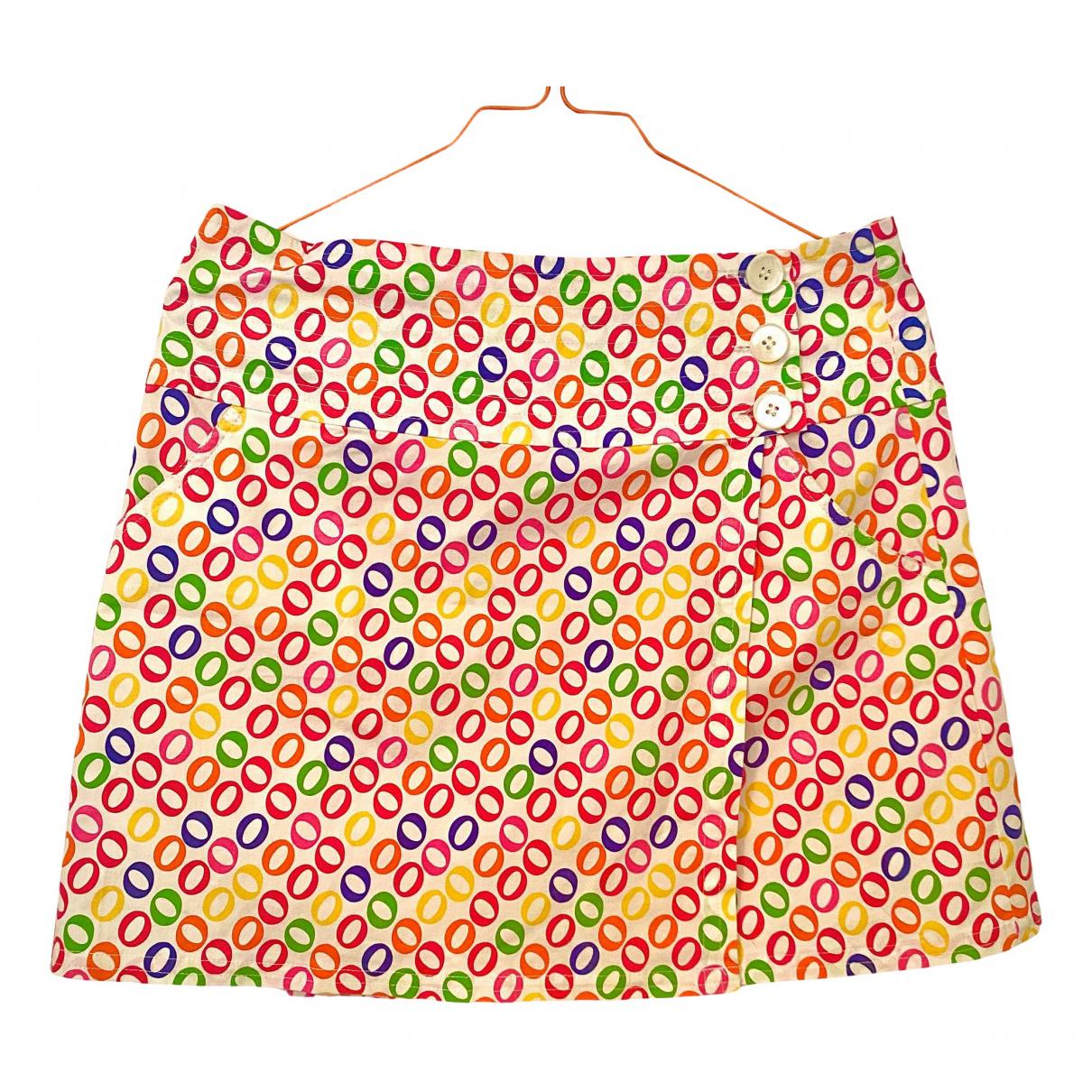 Diane Von Furstenberg N Multicolour Cotton skirt for Women 4 UK