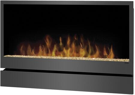DWF36PG Inspiration Wall-Mount Electric Fireplace With Life-Like Flame Effect  On-Demand Heat  120 Volts  1240 Watts & 4233
