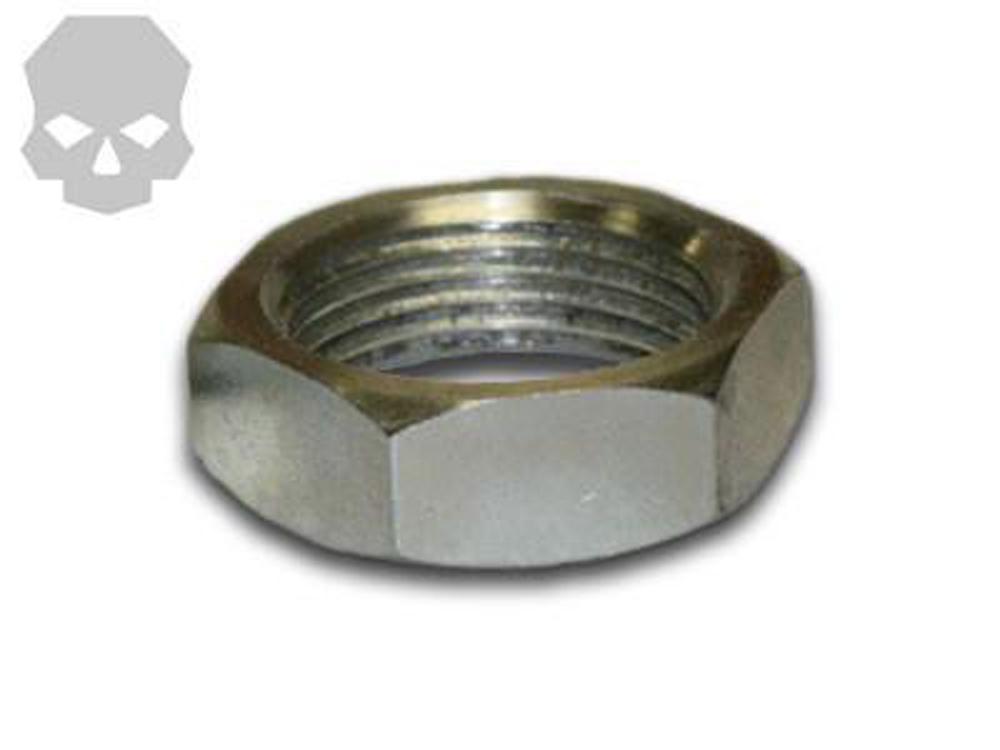 Jam Nut 7/8 Inch-18 tpi Right Hand Thread Zinc Coated Ballistic Fabrication JAM-713