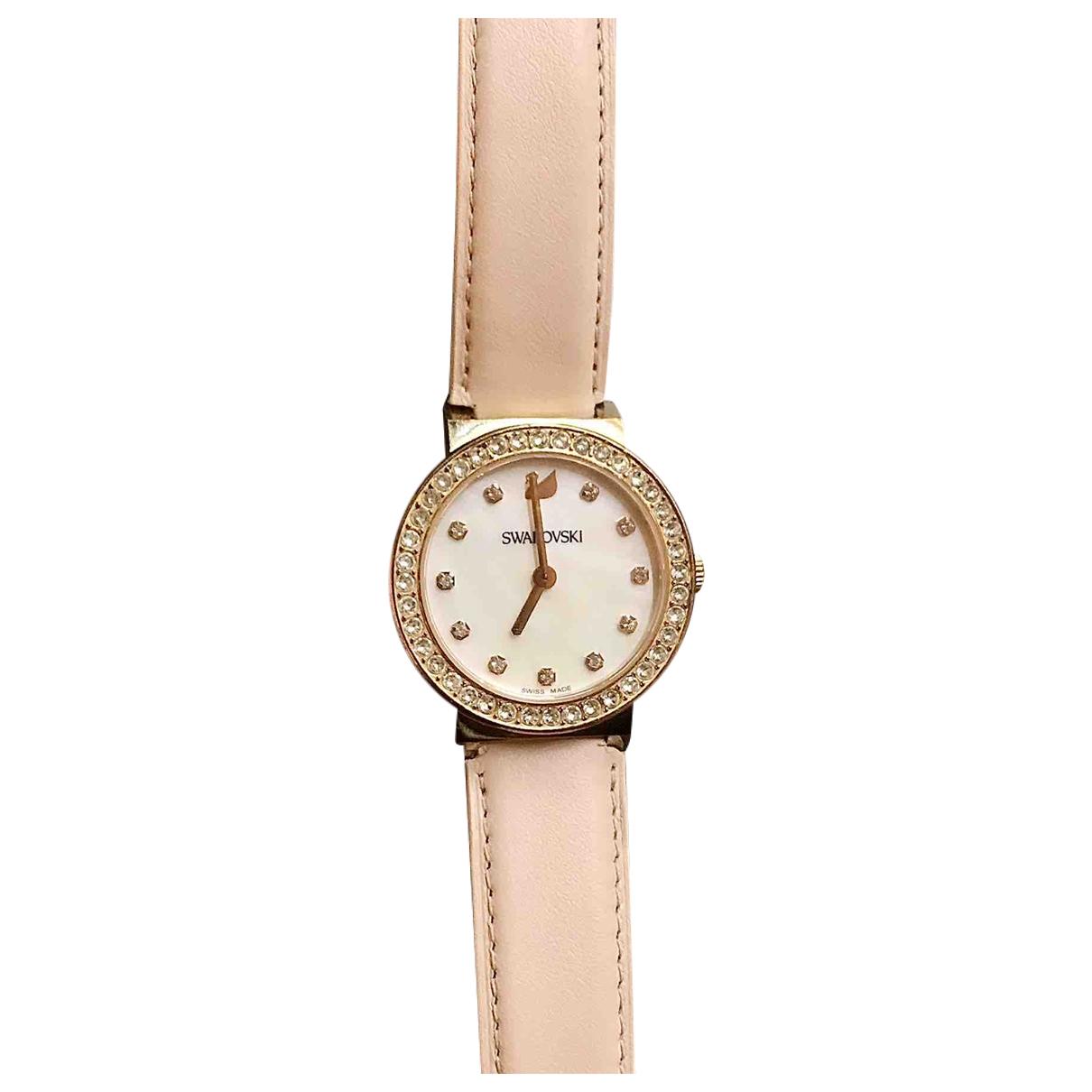 Swarovski \N Uhr in  Gold Stahl