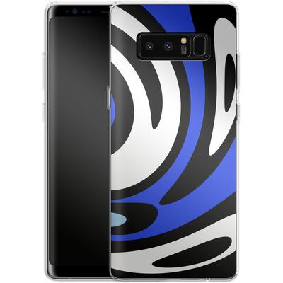 Samsung Galaxy Note 8 Silikon Handyhuelle - Minimalistic Surfer Way von Barruf