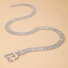 Butterfly Buckle Diamond Waist Chain