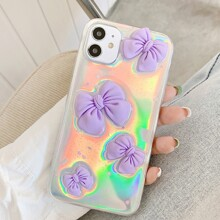 Holographic Bow iPhone Case