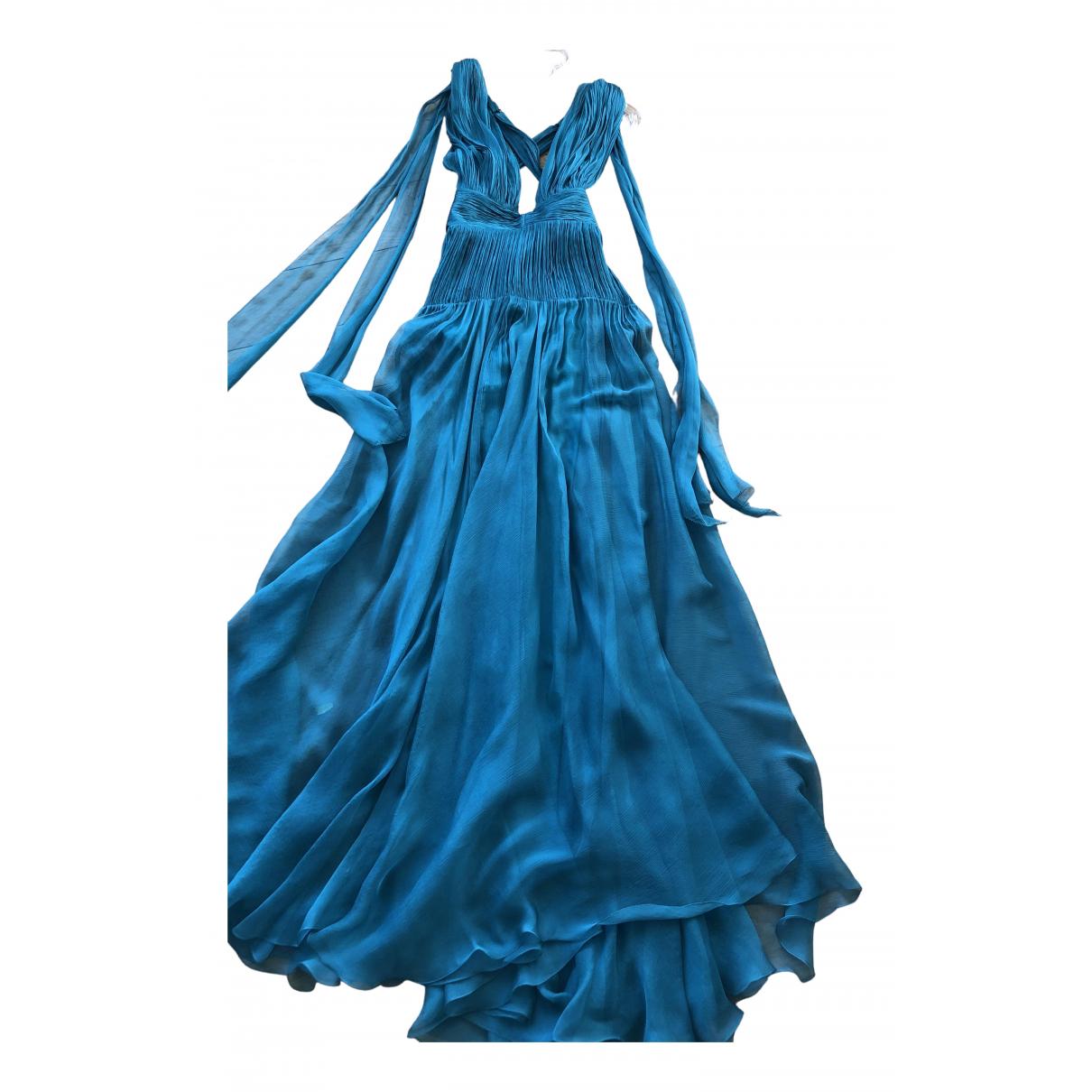 Maria Lucia Hohan \N Kleid in  Gruen Seide
