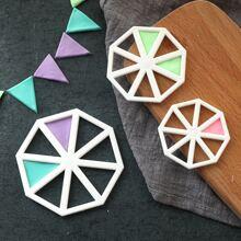 3 Stuecke Dreieck-Backform