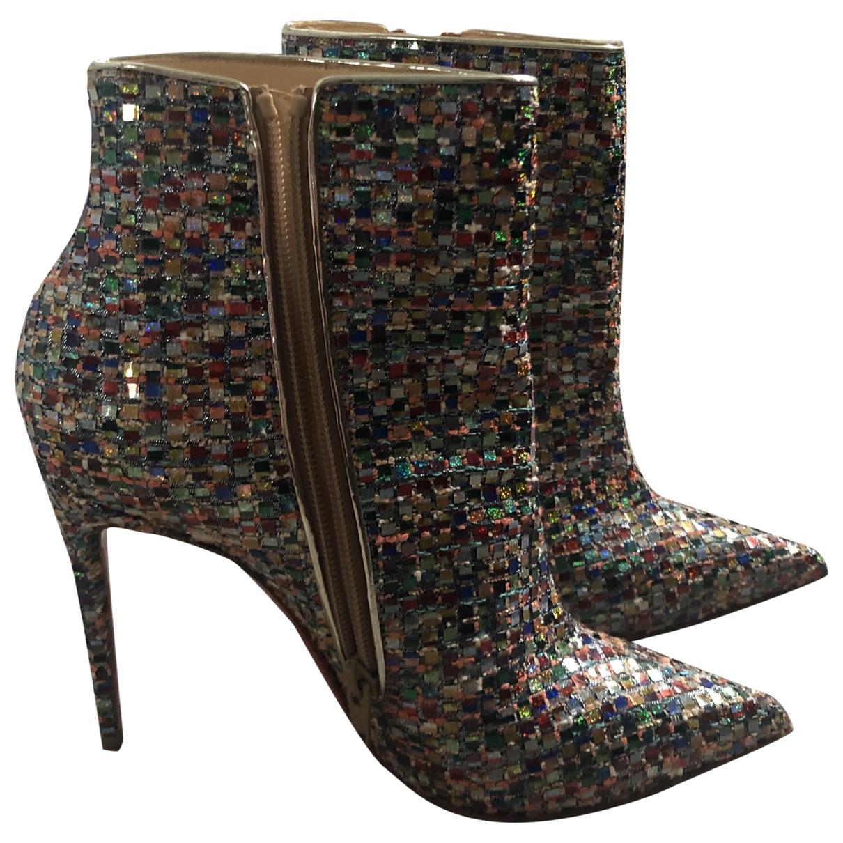 Christian Louboutin - Boots So Kate Booty pour femme en a paillettes - multicolore