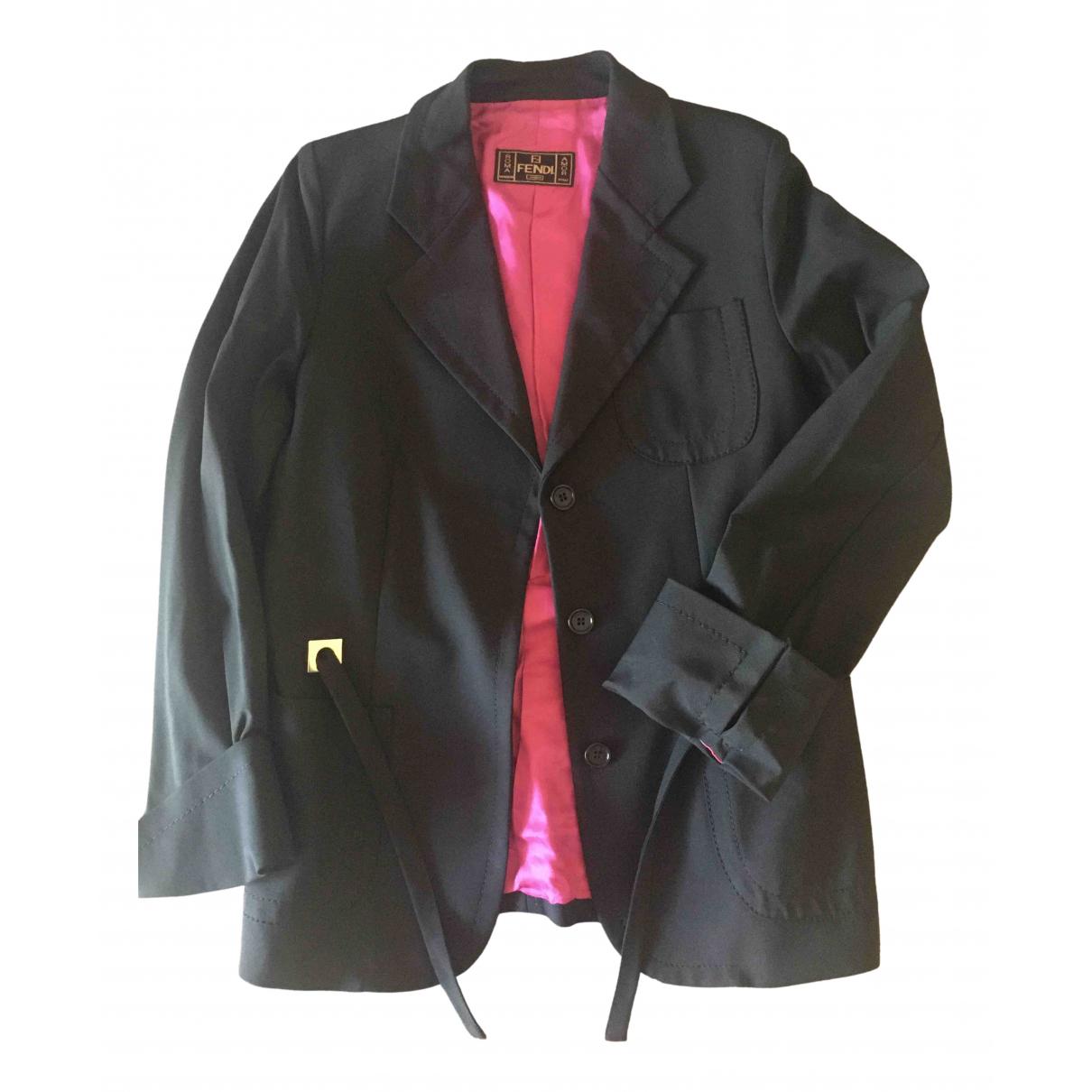 Fendi \N Black jacket for Women 40 FR