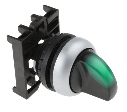 Eaton M22 Illuminated Selector Switch - 2 Position, Latching, 22mm cutout