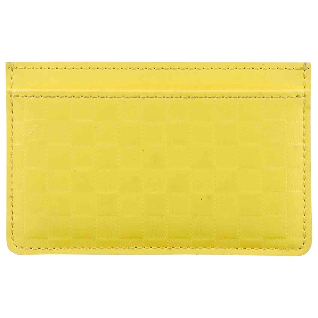 Louis Vuitton - Petite maroquinerie   pour homme en cuir - jaune