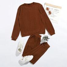 Outfit de dos piezas Canale Liso Casual