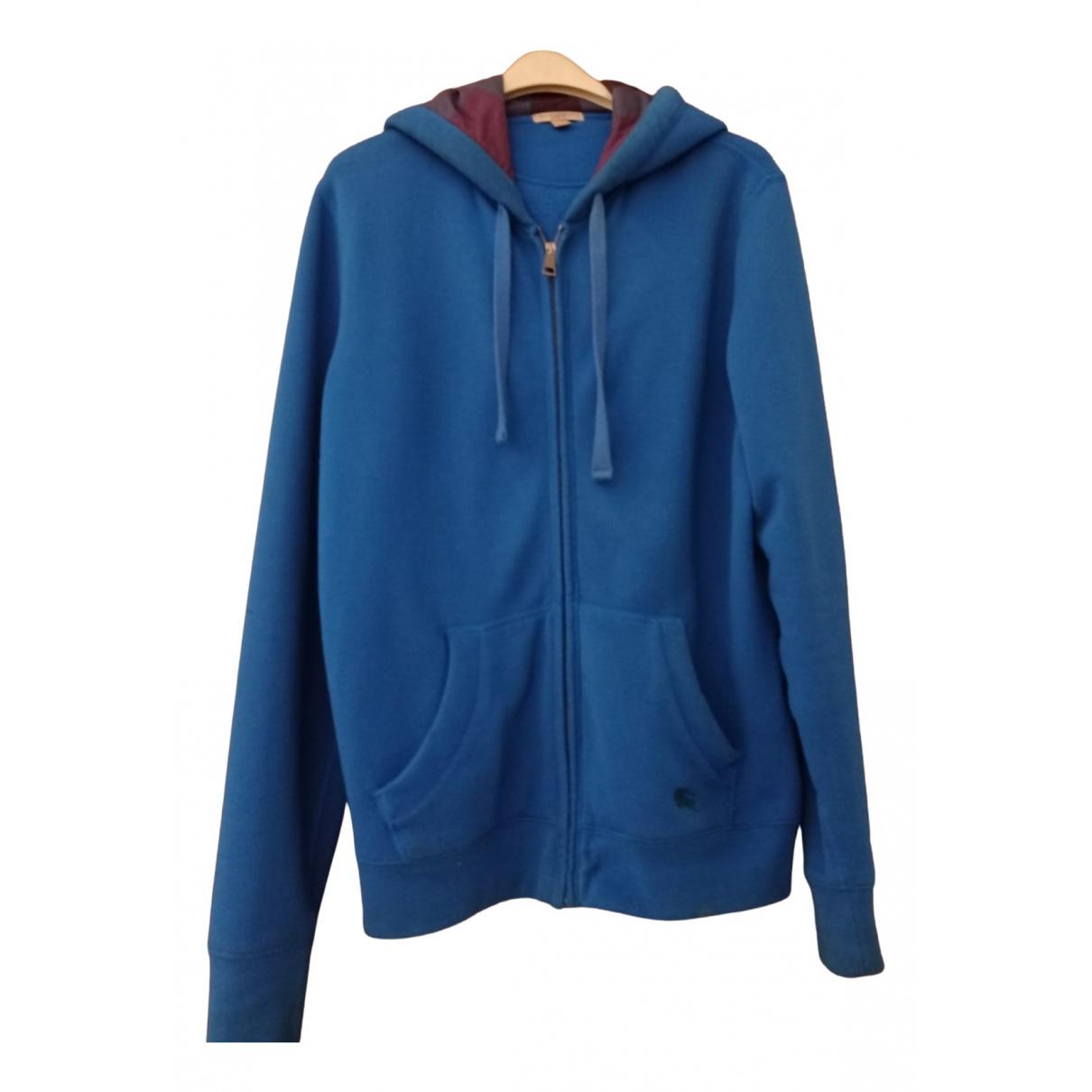Burberry \N Blue Cotton Knitwear & Sweatshirts for Men L International