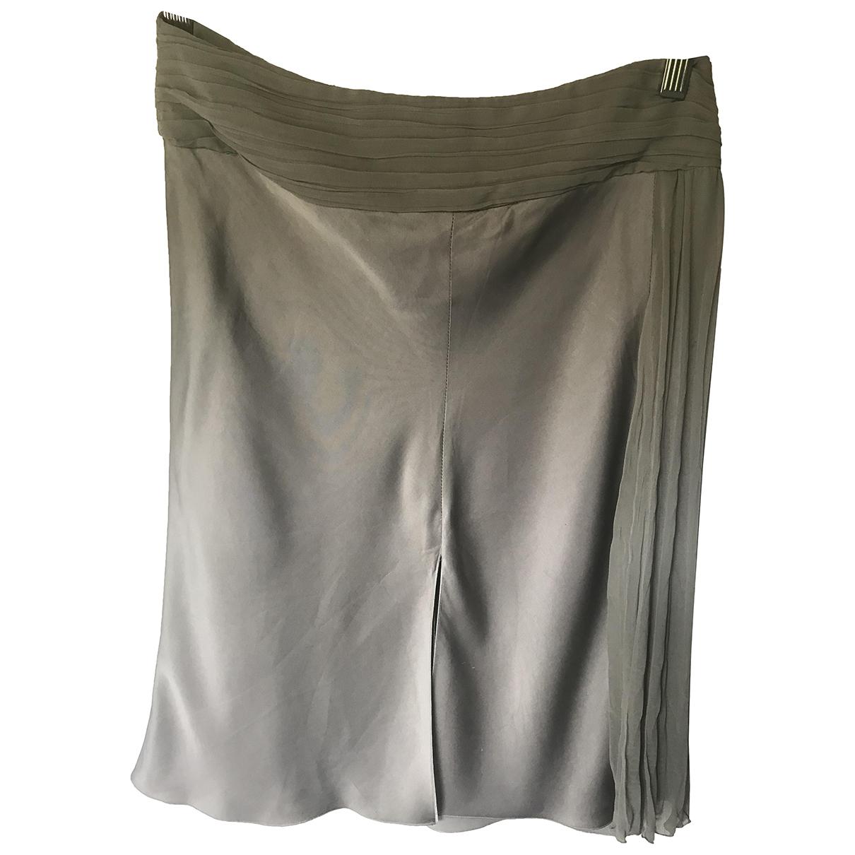 Emporio Armani - Jupe   pour femme - gris