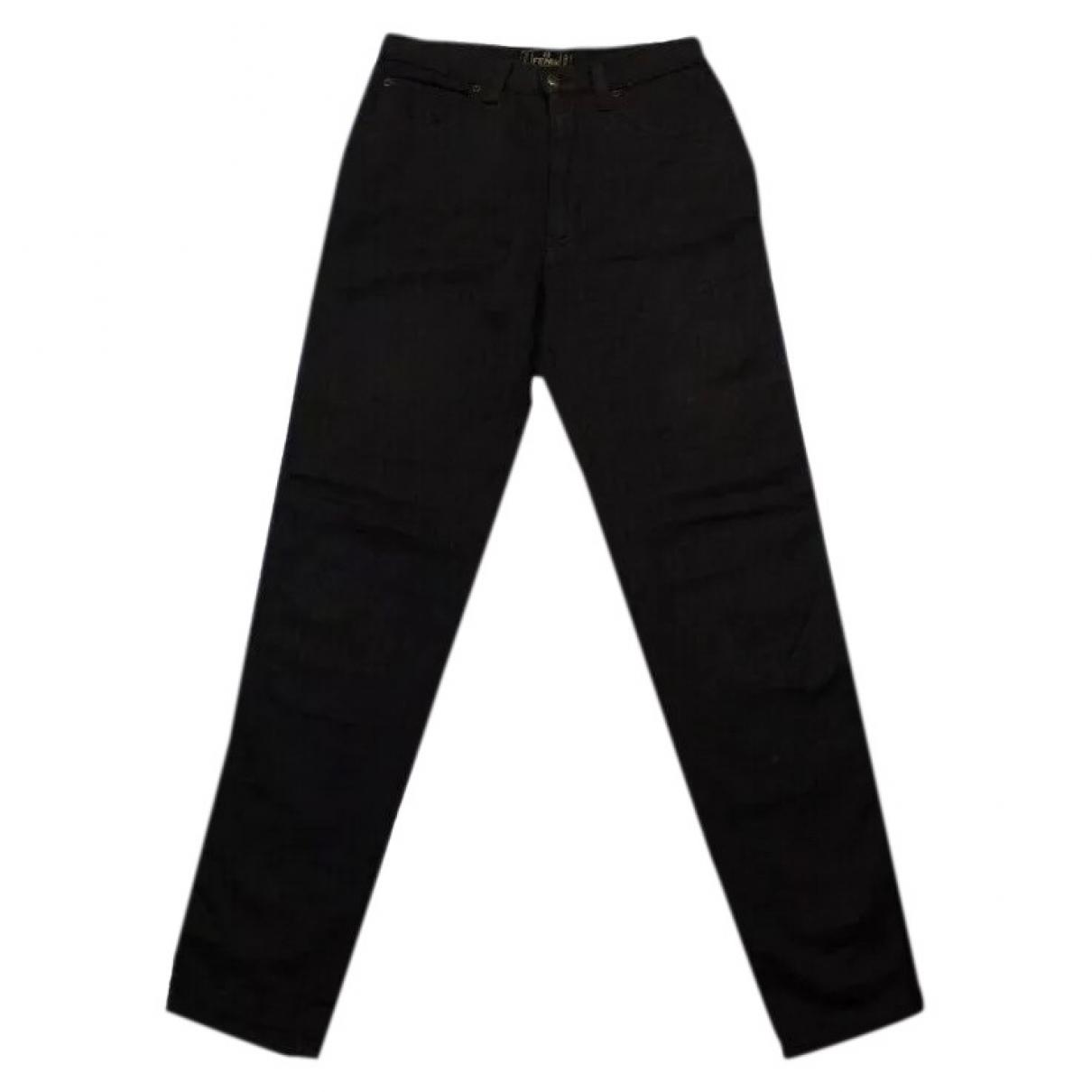 Fendi - Pantalon   pour femme en coton - marron