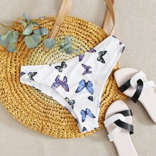 Butterfly Print Bikini Panty