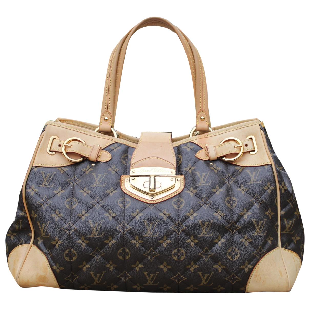Louis Vuitton - Sac a main Etoile pour femme en toile - marron