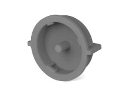 TE Connectivity LED Connector Sealing Cap LUMAWISE Endurance S for LUMAWISE Endurance S Series Receptacle 43.5 (Dia.) x (100)