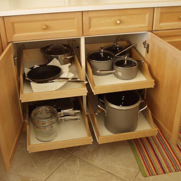 DIY Pullout Shelf Kit 22