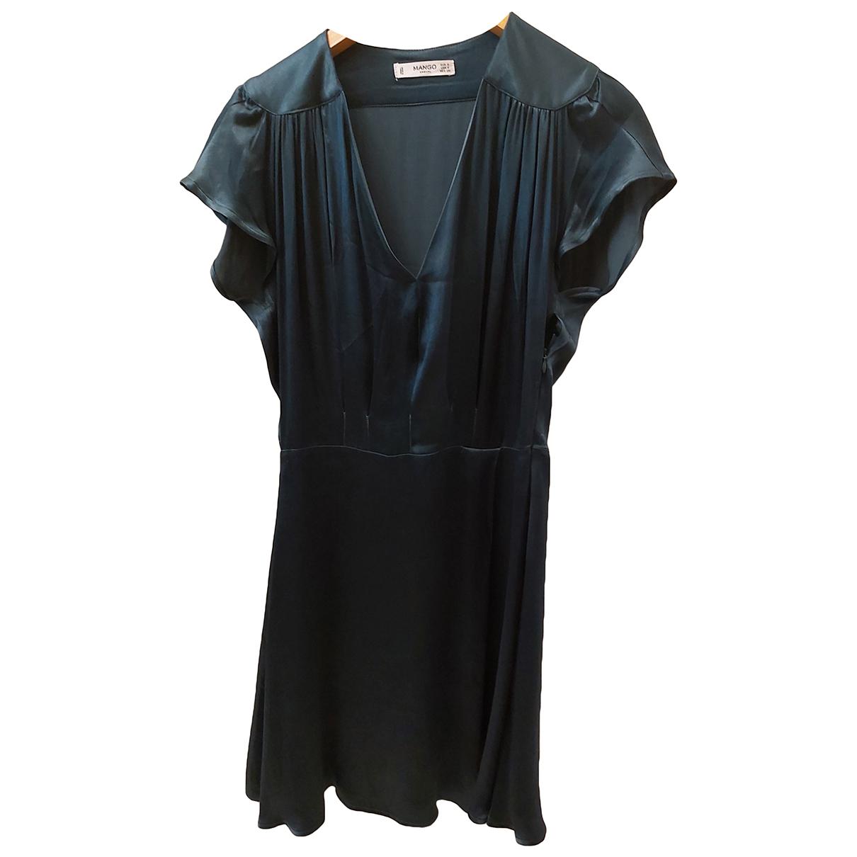 Mango \N Green dress for Women 4 US