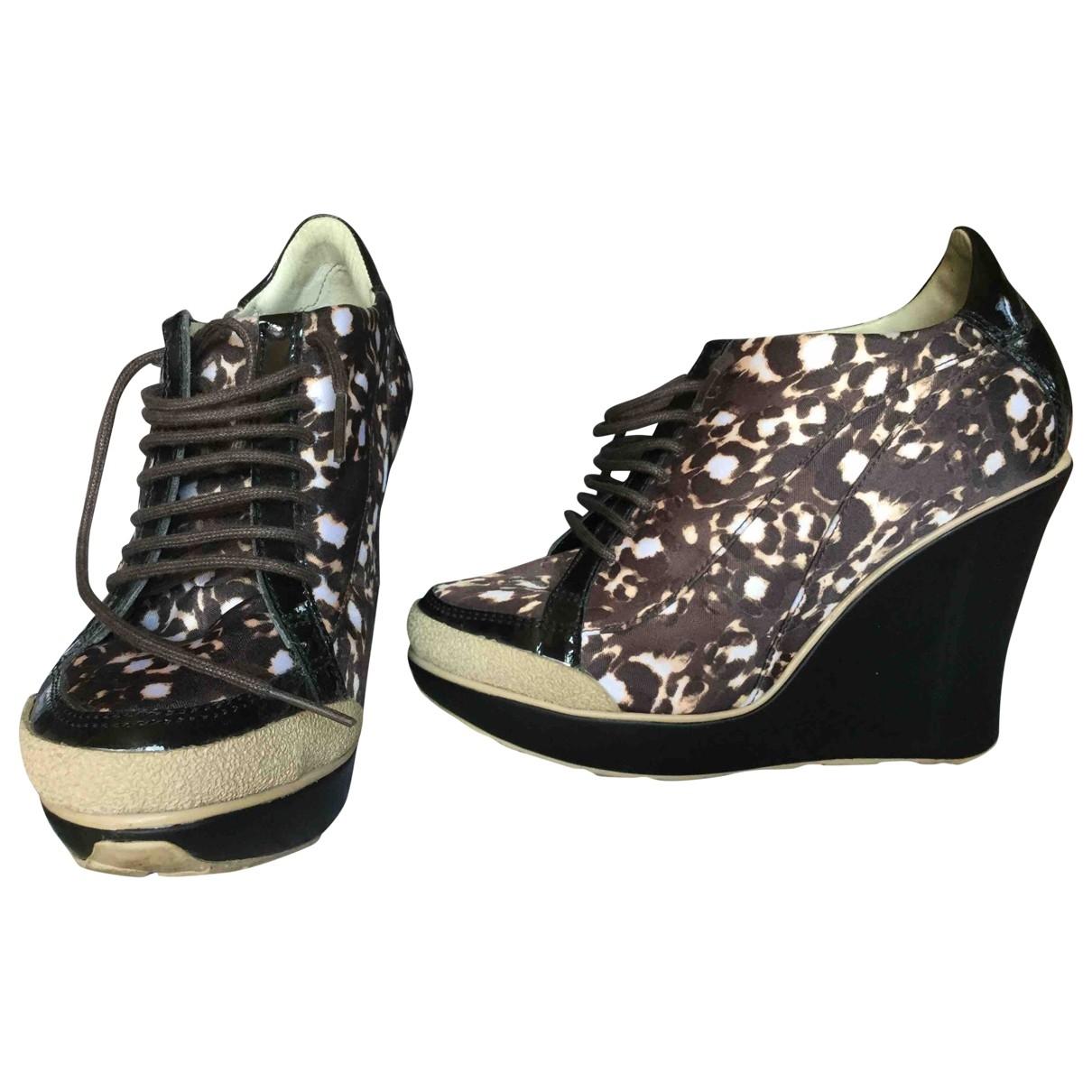 Just Cavalli \N Multicolour Faux fur Heels for Women 36 EU