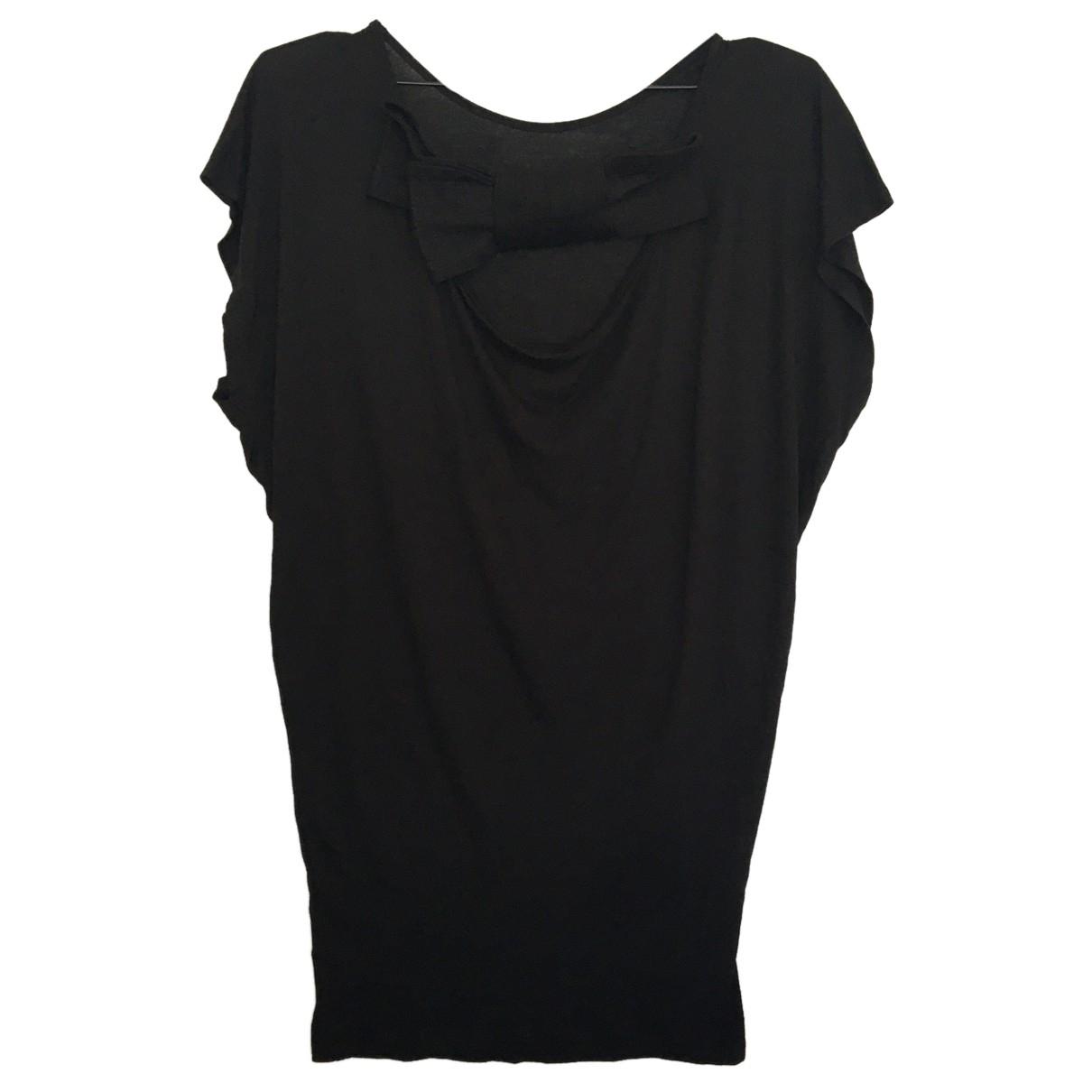 Lanvin - Top   pour femme en coton - noir