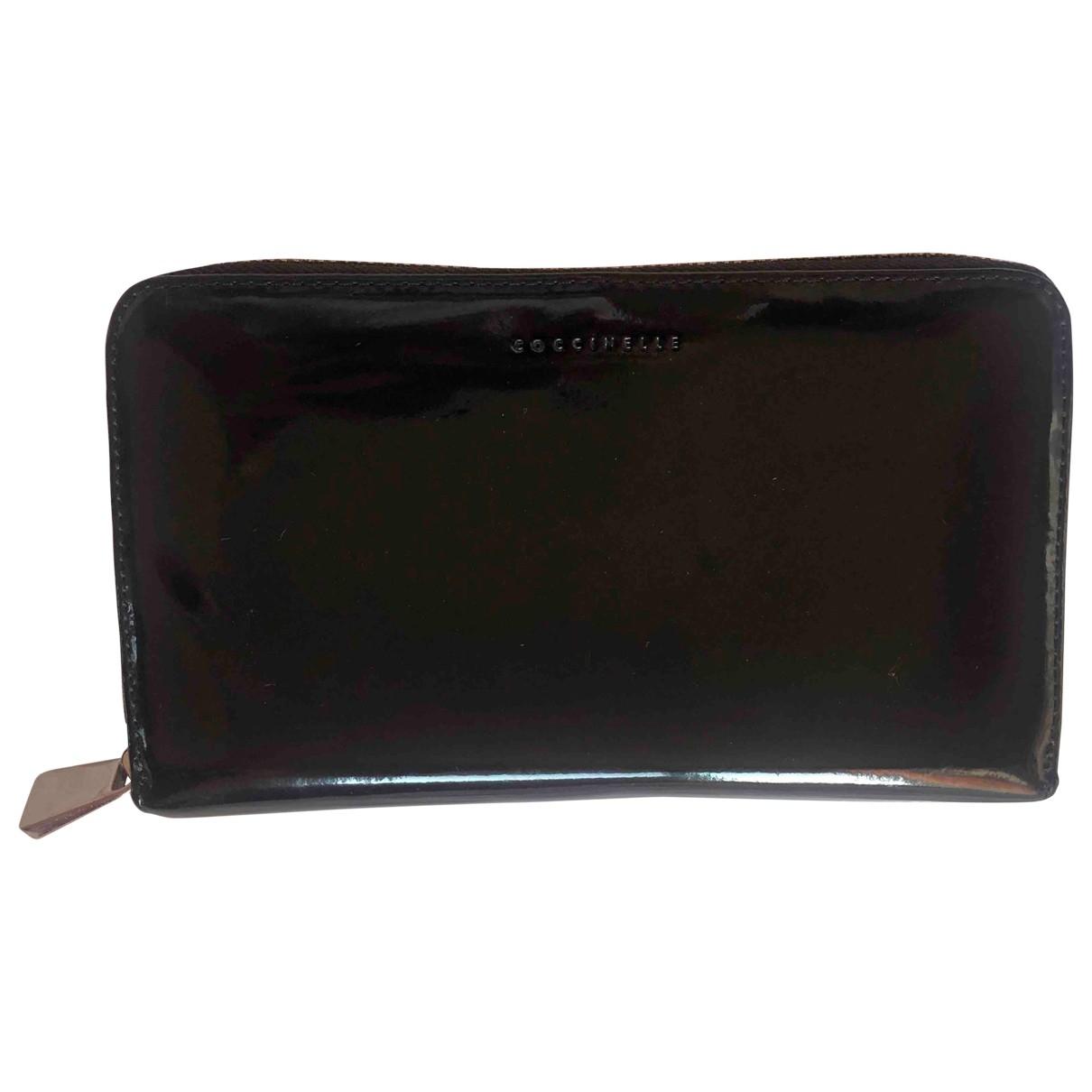 Coccinelle - Petite maroquinerie   pour femme en cuir - noir