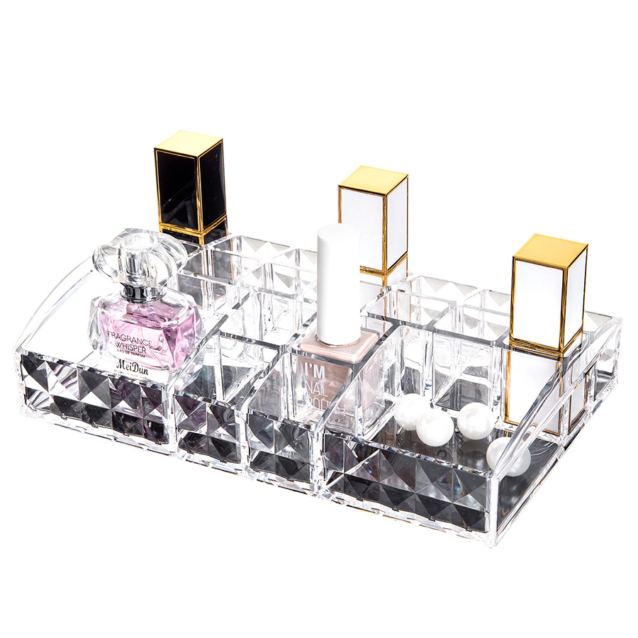 22.4*13.4*4.1cm Acrylic Material Environment Friendly Cosmetic Storage Box