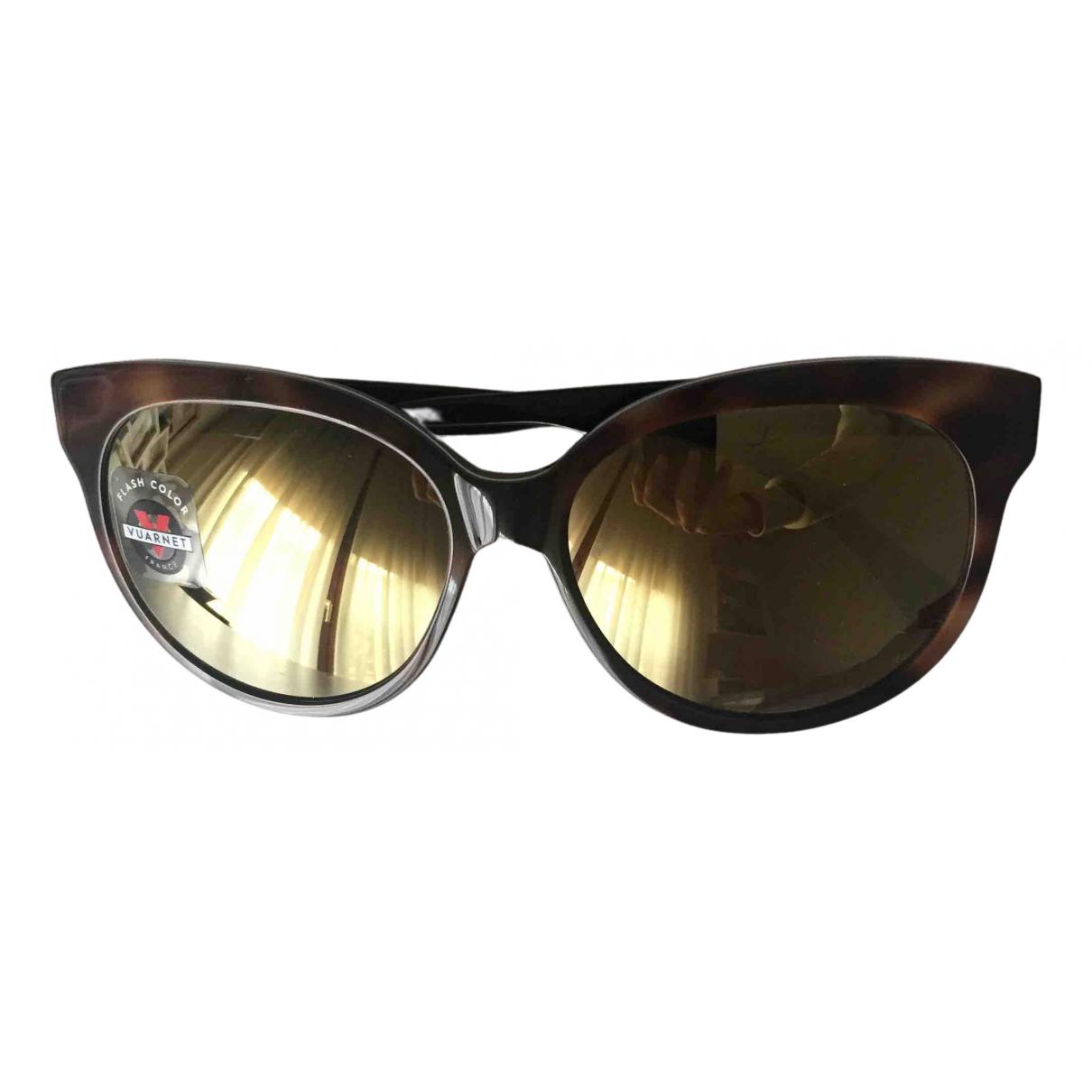 Vuarnet N Brown Sunglasses for Women N