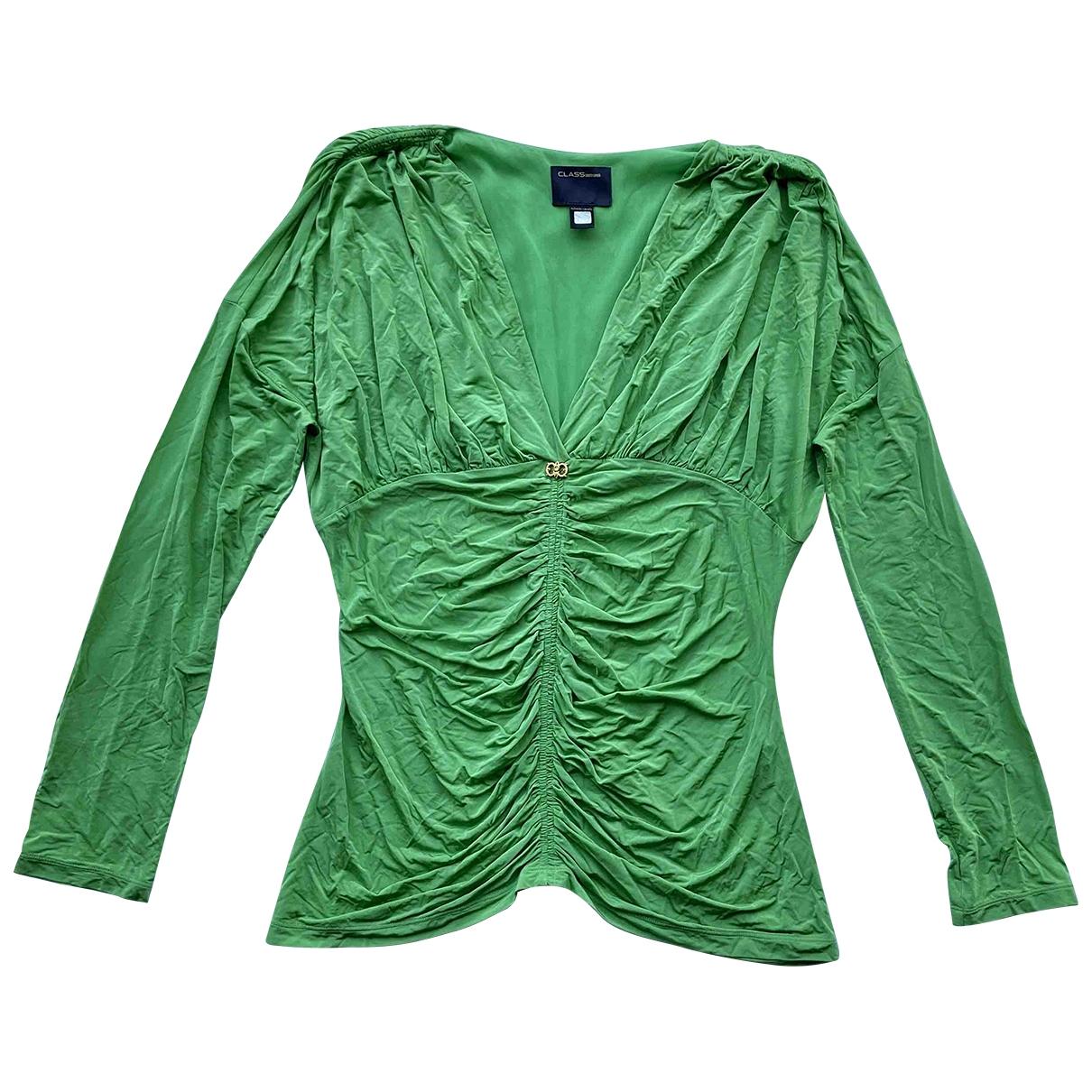 Roberto Cavalli - Top   pour femme - vert