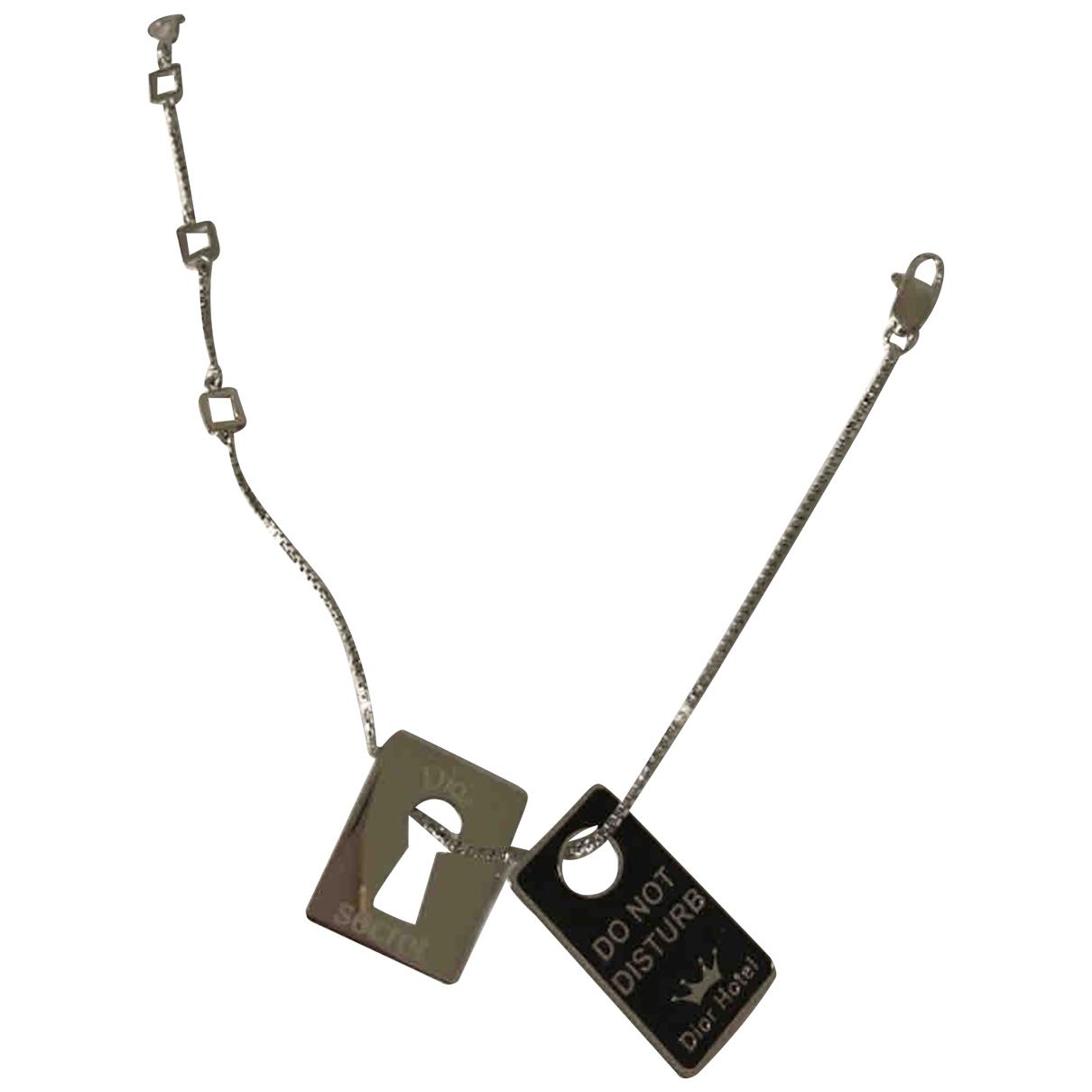 Christian Dior - Bracelet   pour femme en acier - argente