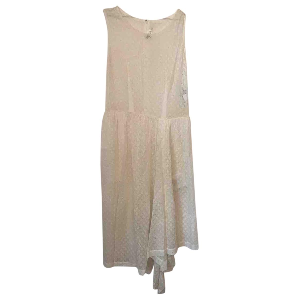 Comme Des Garcons - Combinaison   pour femme en soie - blanc