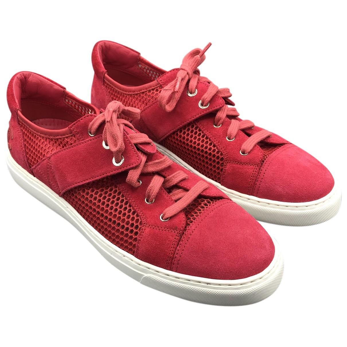 Chanel \N Sneakers in  Rosa Veloursleder