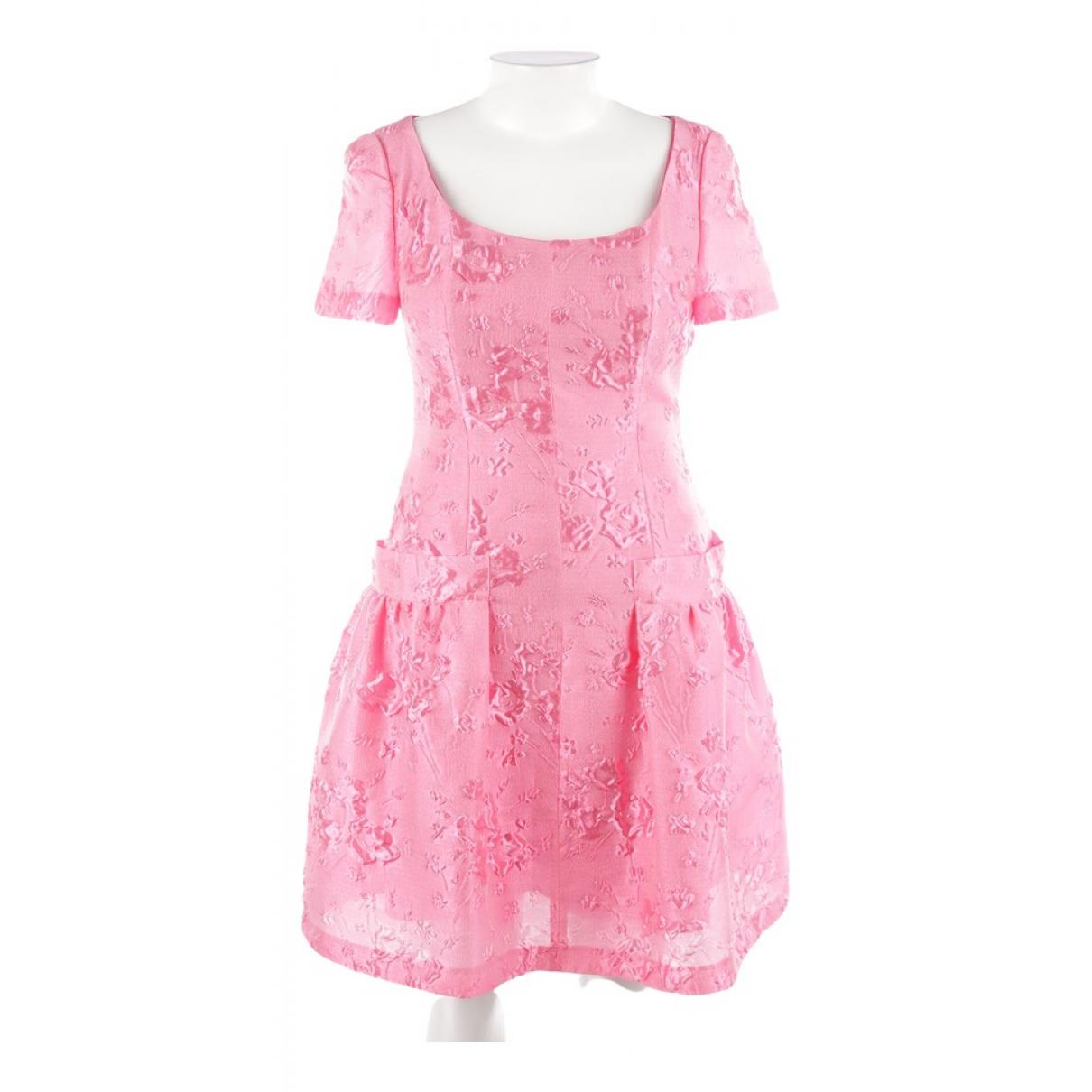 Talbot Runhof \N Kleid in  Rosa Polyester