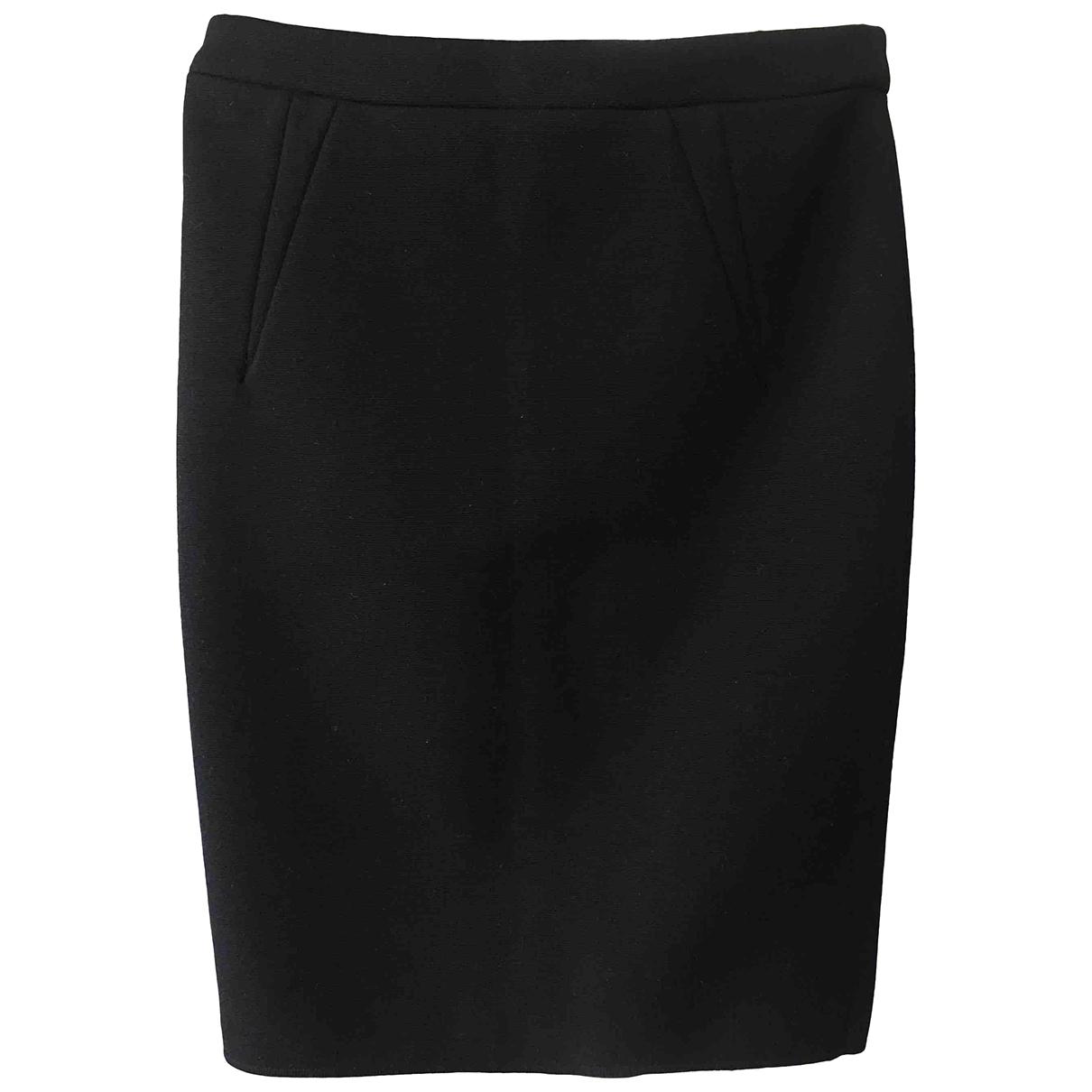 Givenchy \N Black Wool skirt for Women 36 FR