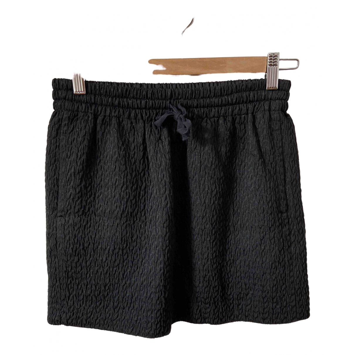 Zadig & Voltaire N Black Cotton skirt for Women 36 FR