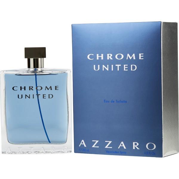 Chrome United - Loris Azzaro Eau de Toilette Spray 200 ML
