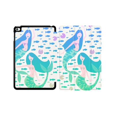 Apple iPad mini 4 Tablet Smart Case - Mermaids Turquoise von Cat Coquillette