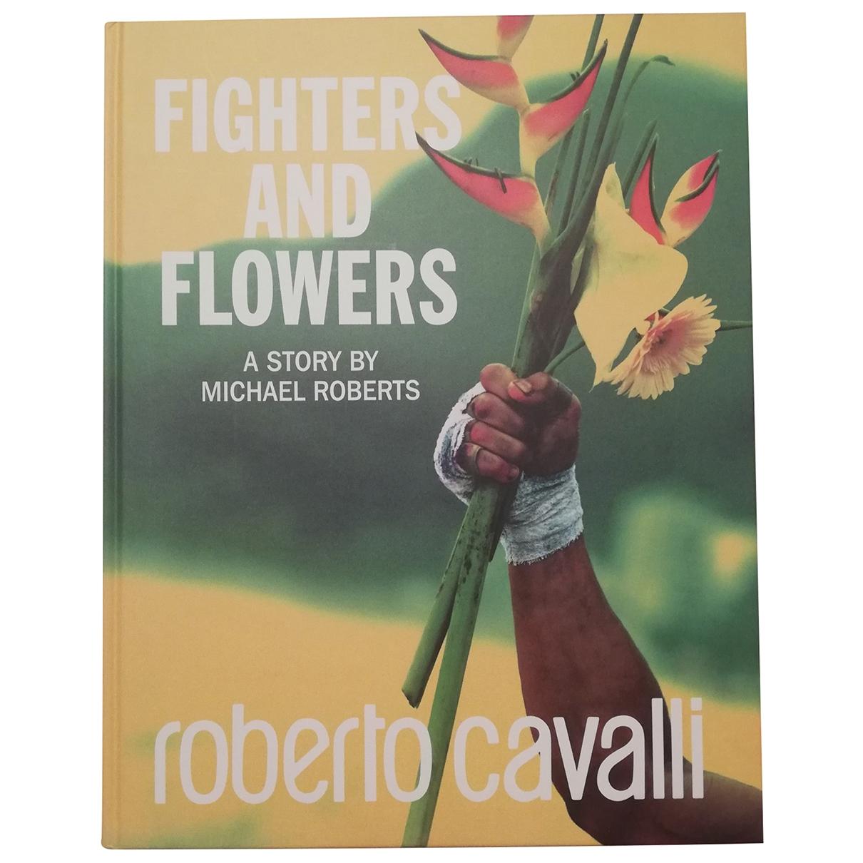 Roberto Cavalli - Mode   pour lifestyle en bois - multicolore