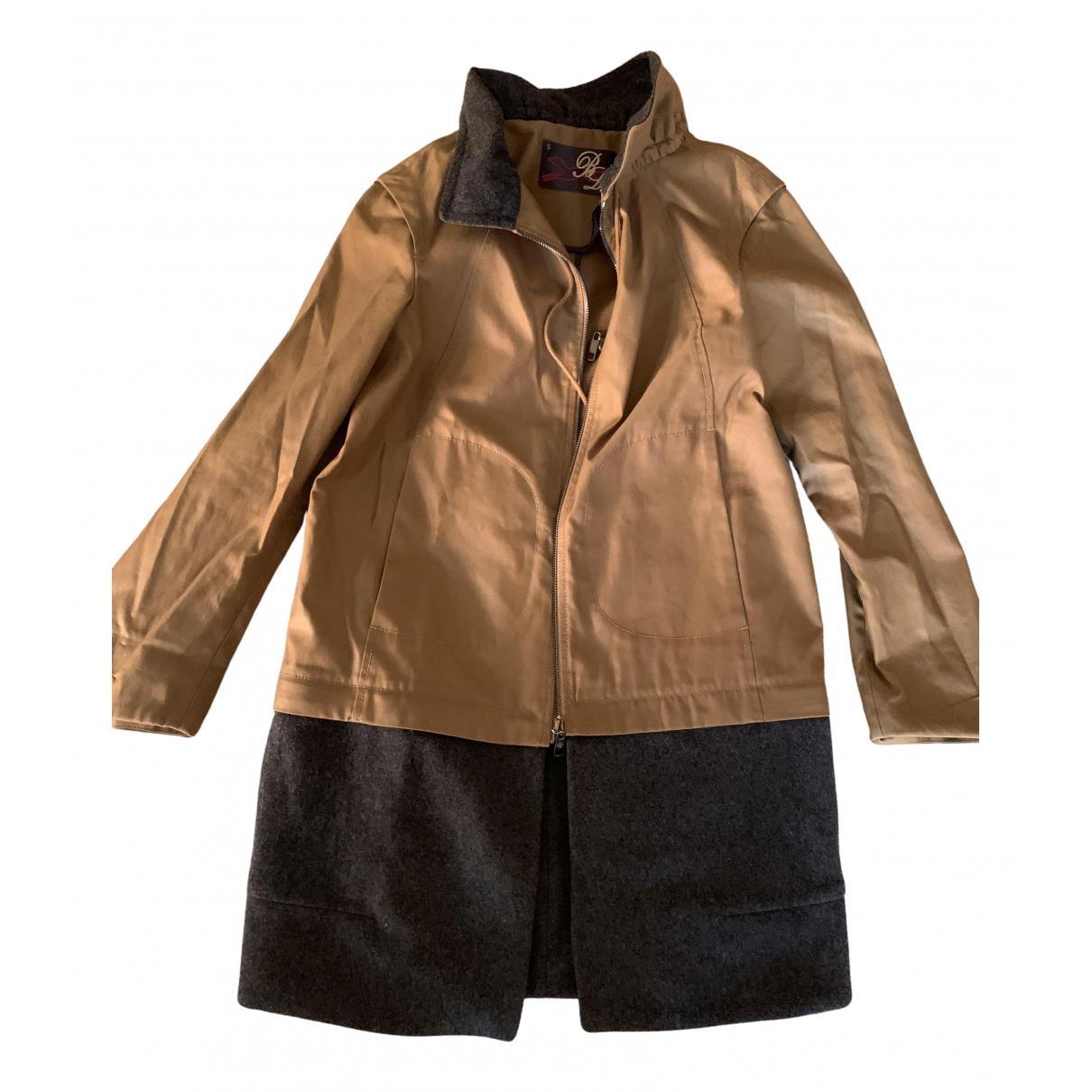 Bimba Y Lola \N Brown Trench coat for Women S International
