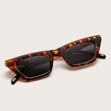 Gafas de sol de marco carey de ojo de gato