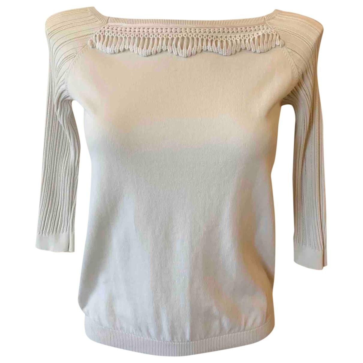 Red Valentino Garavani \N White Cotton Knitwear for Women S International