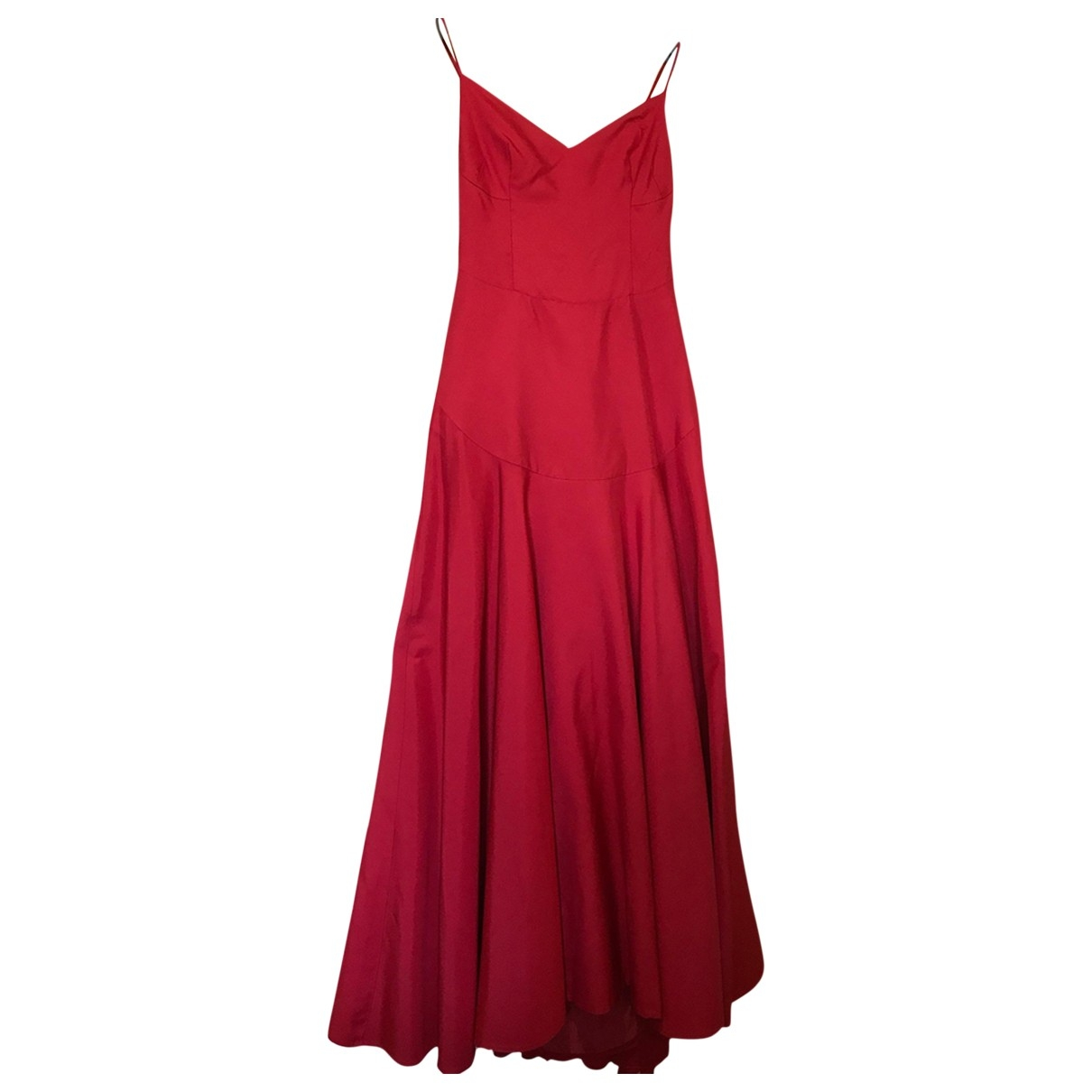 Moschino \N Red Silk dress for Women 38 FR