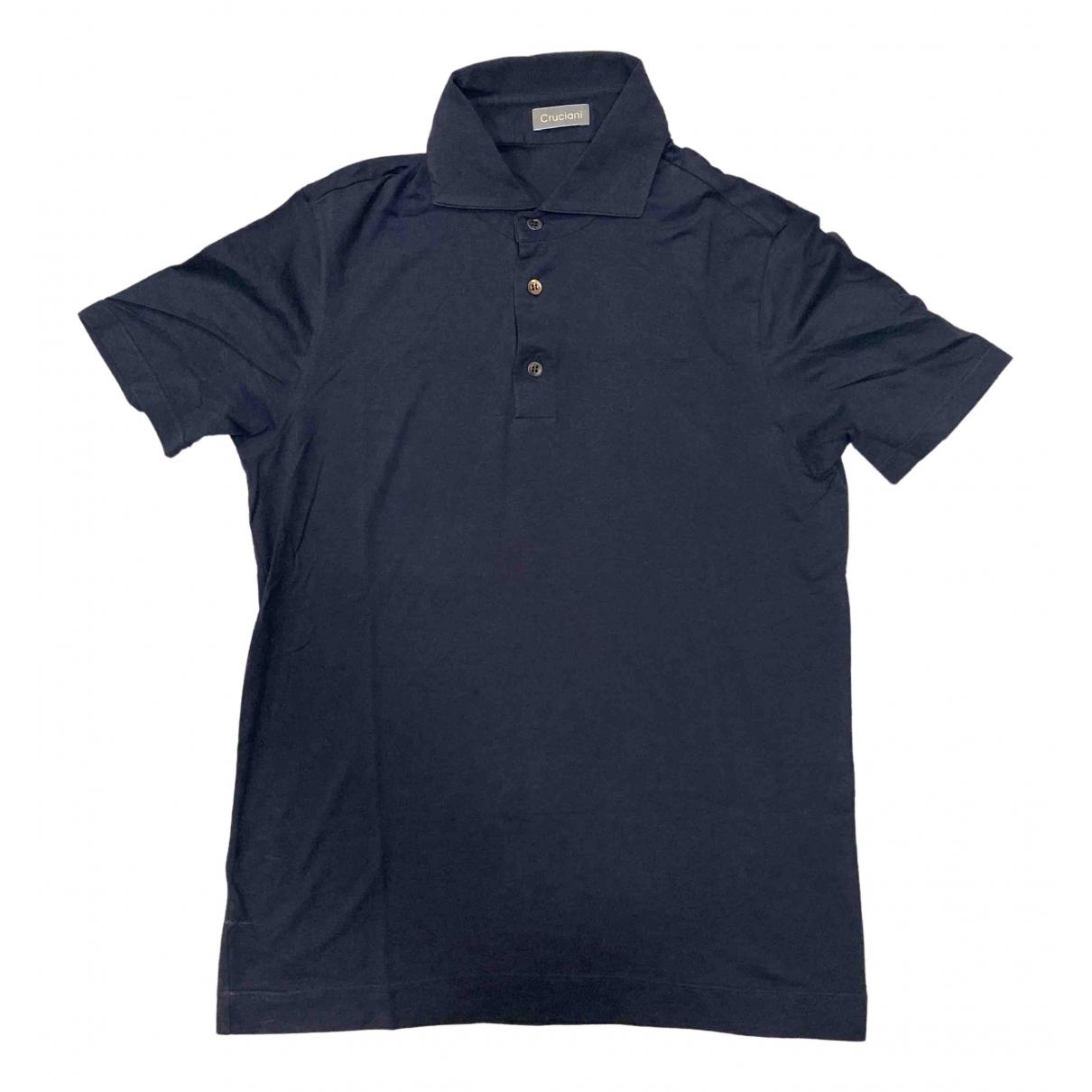 Cruciani - Polos   pour homme en coton - marron